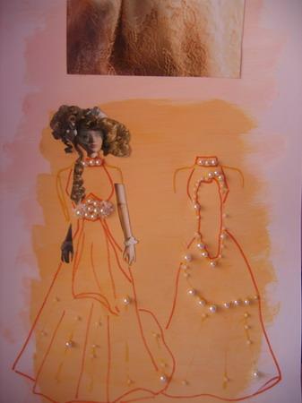 вязание спицами вечерние платья в пол