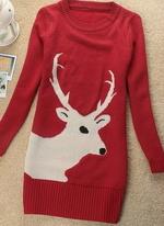 Описание: свитер с оленями. мужской свитер с оленями связать схема.