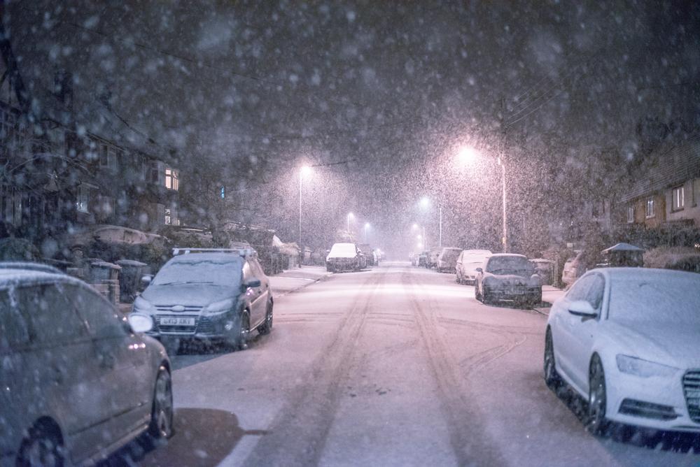 Снегопад и гололёд прогнозируют в Курской области