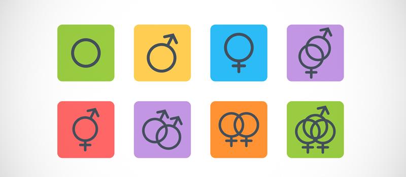 Разновидности сексуалов