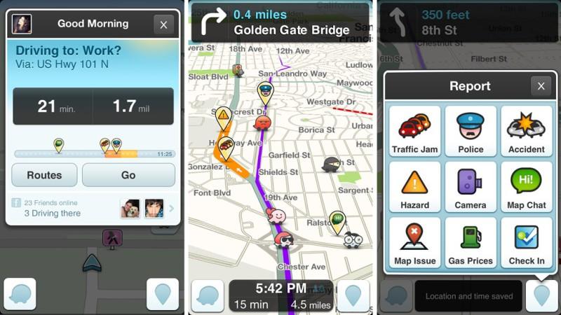 Картинки по запросу Waze обзор приложения