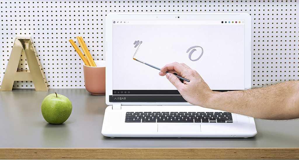 Как на ноутбуке экран сделать сенсорным