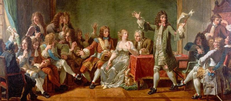 12 мая 1664 - в Версале состоялась премьера комедии Мольера ...